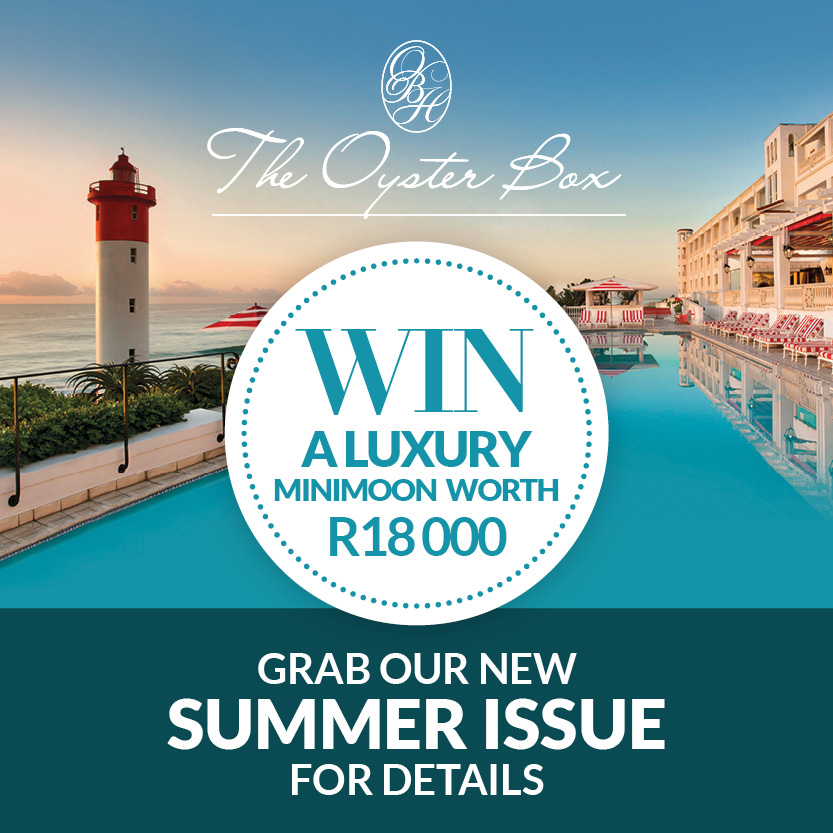 The Oyster Box - Win a luxury holiday worth R18 000
