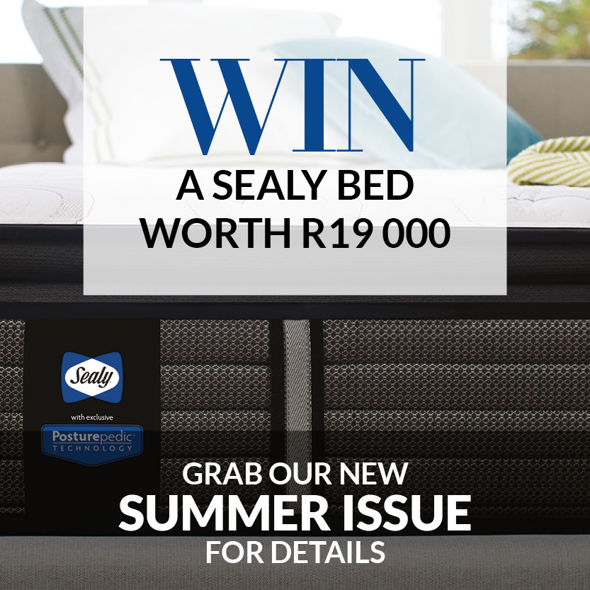Sealy - Win a Sealy Bed worth R19 000