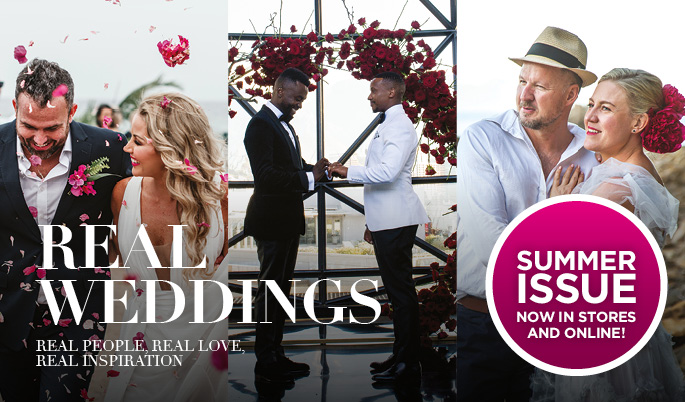 Real Weddings - Real people, real love, real inspiration