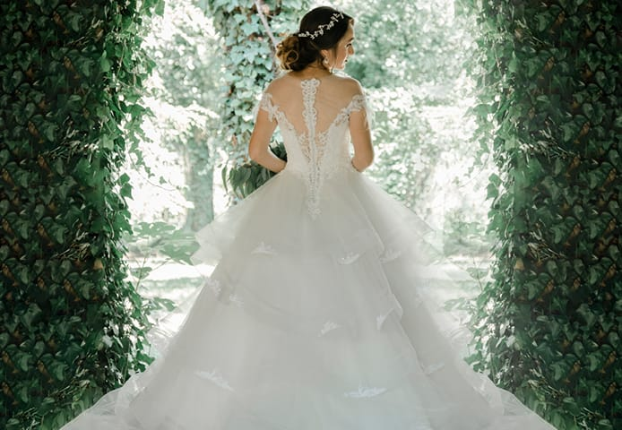Aisle Style wedding dress