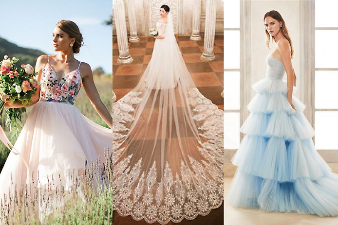 6 Fabulous Bridal Gown Trends In 2020 Wedding Inspirations