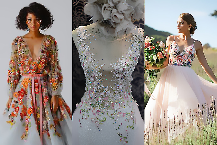 floral gowns 2020